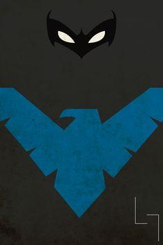Nightwing aka Dick Grayson aka first Robin