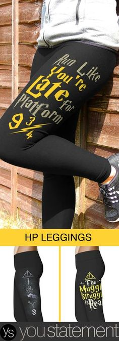 Love Harry Potter? Check our our HP Inspired Leggings Collection!