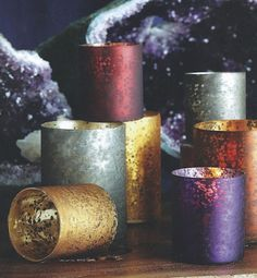 Element Jewel Tone Votives - perfect for your holiday decorating!
