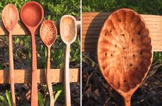 Hand Carved Spoons by Old World Market on Etsy