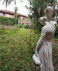 Abandoned Howey mansion,Howey-In-The-Hills, Florida / ...how could anyone abandone something so beautiful ??