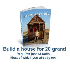 Learn how to build a tiny #house! Get the #book http://glinks.gourmethealthychocolates.com/TinyBook