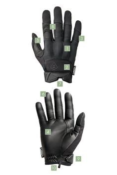 Hard Knuckle Gloves | First Tactical