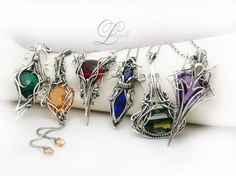 collection of necklaces III Lunarieen UK by LUNARIEEN on deviantART