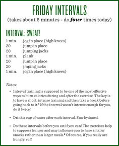 Today's workout! Not your traditional take on intervals, but a version adapted for the workplace! Friday Workout, Workout Guide, Workout Challenge, Thursday Workout, Workout Ideas, At Home Workout Plan, At Home Workouts, Workout Plans, Weekly Workouts