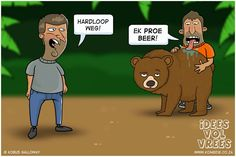 Idees vol vrees Afrikaanse Quotes, Funny Quotes, Family Guy, Jokes, African, Fictional Characters, Beer, English, Gallery