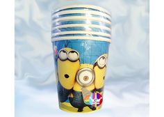 eFantasyMx: Minions, vasos desechables 9 onz, 6 pzs - Kichink Minions, Travel Mug, Mugs, Tableware, Dinnerware, The Minions, Tumblers, Dishes, Mug