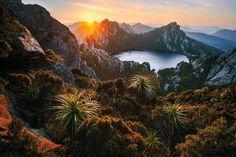Lake Oberon, Western Arthur Range, Tasmania