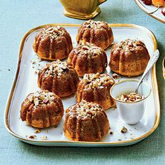 Must-Have Mini Cakes | Rum-Glazed Sweet Potato Cakes  | MyRecipes.com