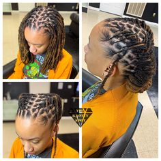 Hair Styles – Hair Care Tips and Tricks Short Dread Styles, Dreads Styles For Women, Short Dreadlocks Styles, Short Locs Hairstyles, Dreadlock Styles, Cool Hairstyles, Short Dreads, Black Hairstyles, Wedding Hairstyles