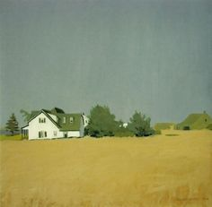 Cave to Canvas, Fairfield Porter, Wheat, 1960