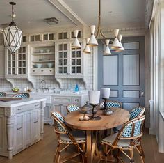 Transitional Cottage Kitchen Remodel Kitchen with Beautiful Distressed Custom Cabinets.!