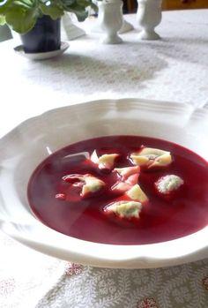 For Love of the Table: Clear Polish Borsch with Mushroom Dumplings (Uszka)...
