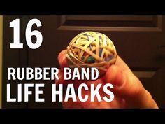 16 cose che non avresti mai pensato di fare con gli elastici!
