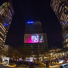 We lit up Amsterdam skies on 13 November 2013| 3D Projection| Innovation and you
