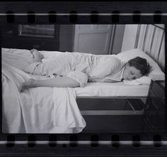 Robert Capa, [Gerda Taro sleeping, Paris], 1935-36, Negative  by PRI's The World, via Flickr