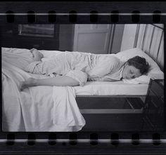 Gerda Taro sleeping, Paris, 1935-36, Negative. Photo: Robert Capa.
