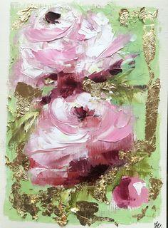 5x7 Pink Roses Notecard