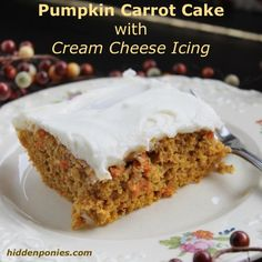 Carrot cake bars, Healthy carrot cakes and Cake bars on Pinterest