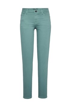 5-pocket jeans Petrol - Broeken - Broeken - Women   Didi.nl