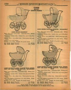 1923 Ad Woven Fibre Baby Carriages Buggies Buggy Pullman Sleeper | eBay