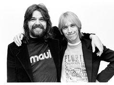 Bob Seger and Tom Petty in Detroit Michigan 1979