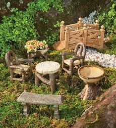 Miniature Fairy Gardens Houses