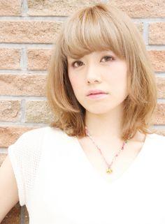 ニュアンスストレート 【Avenz.foundation】 http://beautynavi.woman.excite.co.jp/salon/19803?pint ≪ミディアム・ヘアスタイル・medium・hairstyle・髪形・髪型≫