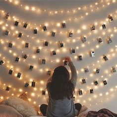 LED Photo Clip String Lights Holder Fairy Lights for Hanging Photos Pictures Cards Memos, RGB Warm White Decoration Light Cute Room Decor, Wall Decor, Hanging Photos, Hanging Artwork, Window Hanging, Aesthetic Room Decor, Aesthetic Photo, Room Ideas Bedroom, Bedroom Wall
