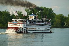 The Great Steamboat Race on the Ohio River, which takes place every year as a part of the Kentucky Derby Festival