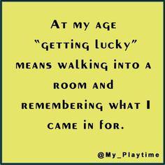 Inside lucky