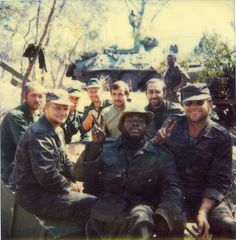 Soviet officers pose behind an Angolan Brigade Commander somewhere in the vicinity of Cuito Cuanavale, Angola. Photo taken sometime in September or October of Cuban Army, Btr 60, Army Pics, Super Images, Soviet Army, Defence Force, Anglo Saxon, Special Forces, Cold War