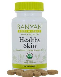 Healthy Skin blends nine of the most powerful Ayurvedic herbs for skin health, creating a formula that supports healthy skin from within. Clear, radiant skin requires proper nutrition, hydration, and oleation. Ayurvedic Herbs, Healthy Skin Care, Skin Care Treatments, Proper Nutrition, Radiant Skin, Anti Aging Cream, Flawless Skin, Natural Skin, Organic
