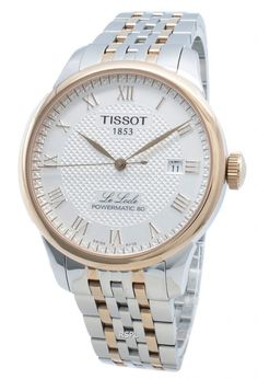Tissot T-Classic Power Reserve Automatic Men's Watch Watch Companies, Watch Brands, Stainless Steel Bracelet, Stainless Steel Case, Tissot Mens Watch, Le Locle, Automatic Watches For Men, Gold Watch, Rolex Watches