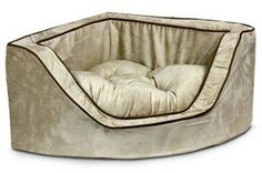 Snoozer Luxury Corner Pet Bed Large PinkPink * Click image to review more details.(This is an Amazon affiliate link and I receive a commission for the sales)