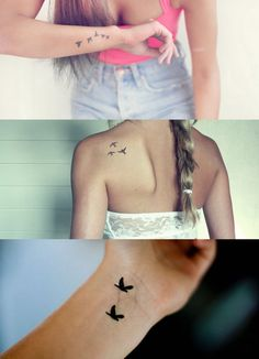 Getting some kind of a bird tattoo is definitely on my bucket list..