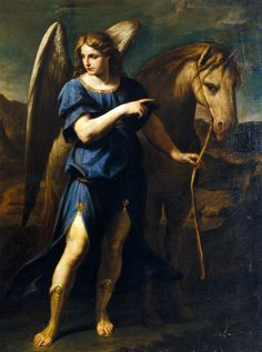 Prayer to Saint Raphael the Archangel for Travellers: I.  Saint Raphael the Archangel,  thou wast a faithful companion to the young man, ...