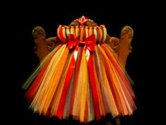 Thanksgiving Tutu- Tutu Dress- Holiday Dress- Infant Tutu- Photo Prop- Baby Tutu- Girls Tutu- Available In Size 0-24 Months