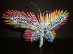 Free Easy Origami Instructions | 3D Origami - butterfly