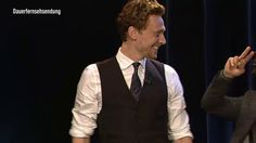 Tom Hiddleston, Mark Ruffalo & Chris Hemsworth interview on German TV. This is the funniest thing in the whole world. What the HECK.