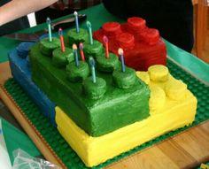 Lego cake idea.