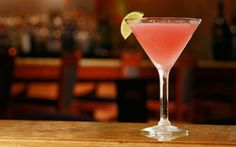 running to get one right now...  Black Cherry-tini:  Effen Black Cherry Vodka, fresh lime juice and cranberry juice.
