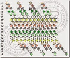 JPo's bead pattern (Page has many patterns)-kulka 20 bargello Crochet Ball, Bead Crochet, Loom Patterns, Beading Patterns, Bargello, Beading Tutorials, Bead Weaving, Beaded Jewelry, Beaded Bead