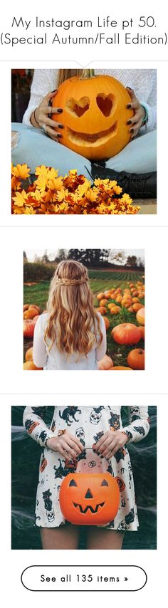"""My Instagram Life pt 50. (Special Autumn/Fall Edition)"" by anninhasanguinetti-435 ❤ liked on Polyvore featuring home, home decor, holiday decorations, backgrounds, halloween home decor, accessories, pictures, icon pics, photos and pic"