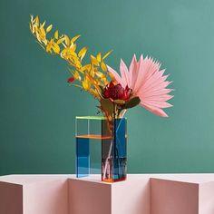 Piet Mondrian, Moma, Vase Haut, Grand Art, Grands Vases, Geometric Flower, Acrylic Panels, Arte Floral, Warm Colors