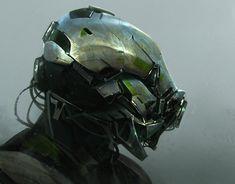 Metal Head , Anthony Jones on ArtStation at https://www.artstation.com/artwork/NavYJ