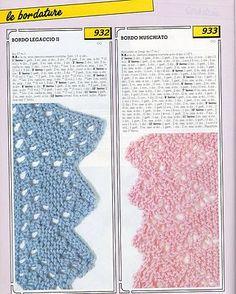 Collezione punti ai ferri 19 / Knitting stitches collection 19