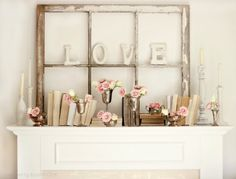10 Magnificent Valentine Mantels