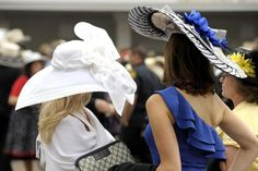 Hats of the Derby - Derby Days by J. Schrecker Jewelry. Visit us at www.jschreckerjewelry.com