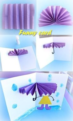 Cute for mothers day - Easy Crafts for All Fall Paper Crafts, Spring Crafts, Diy And Crafts, Toddler Activities Daycare, Art Activities For Kids, Mothers Day Crafts For Kids, Fathers Day Crafts, Painting For Kids, Art For Kids